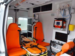 Ambulance d'urgence Ford