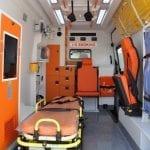 Ambulância de Transferência de Paciente Mercedes