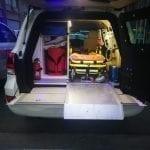 Ambulance Blindée Land Cruiser