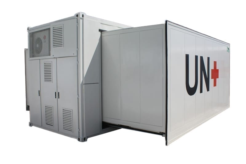 Expandable Container Hospital