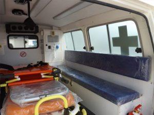 Ambulância 4×4 Land Cruiser