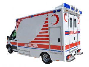 Ambulance de Type Mercedes-Box