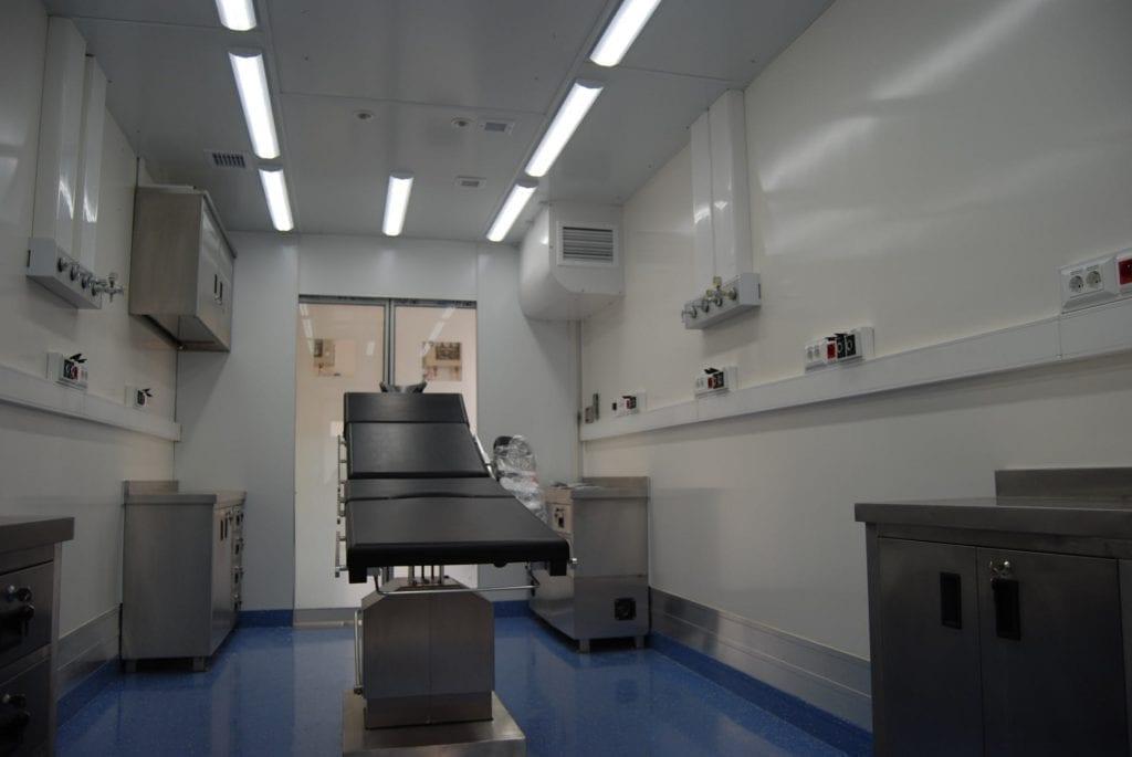 Sala de operação móvel