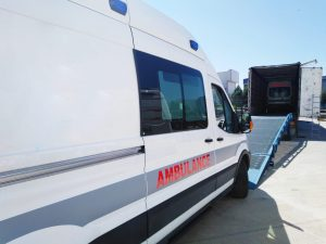 Iraq Ambulance ( Mercedes Emergency Ambulance )