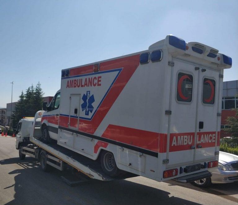 Mercedes Box Ambulance
