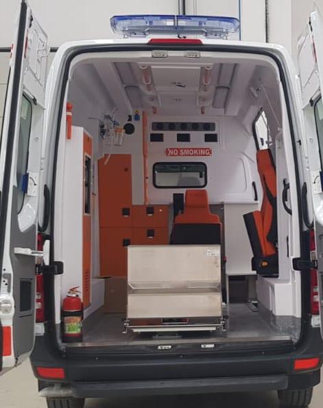 Mercedes ambulance 2018 Ready for shipment 1