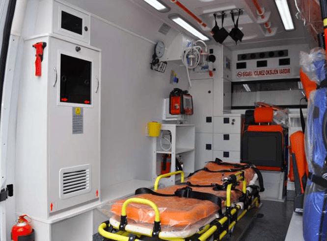 Mercedes ambulance 2018 Ready for shipment 2