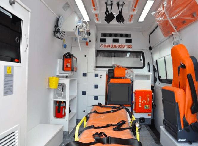 Mercedes ambulance 2018 Ready for shipment 3