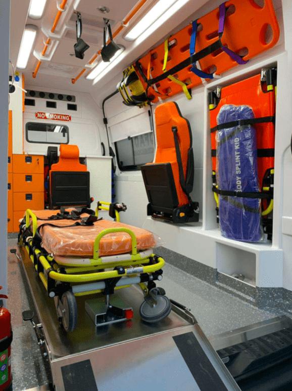 Mercedes ambulance 2018 Ready for shipment 5