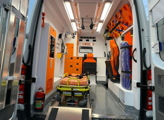 Mercedes ambulance 2019 Ready for shipment 1