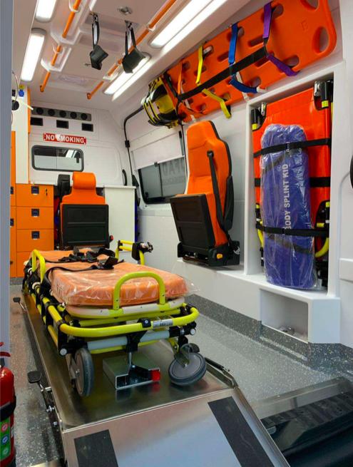 Mercedes ambulance 2019 Ready for shipment 2
