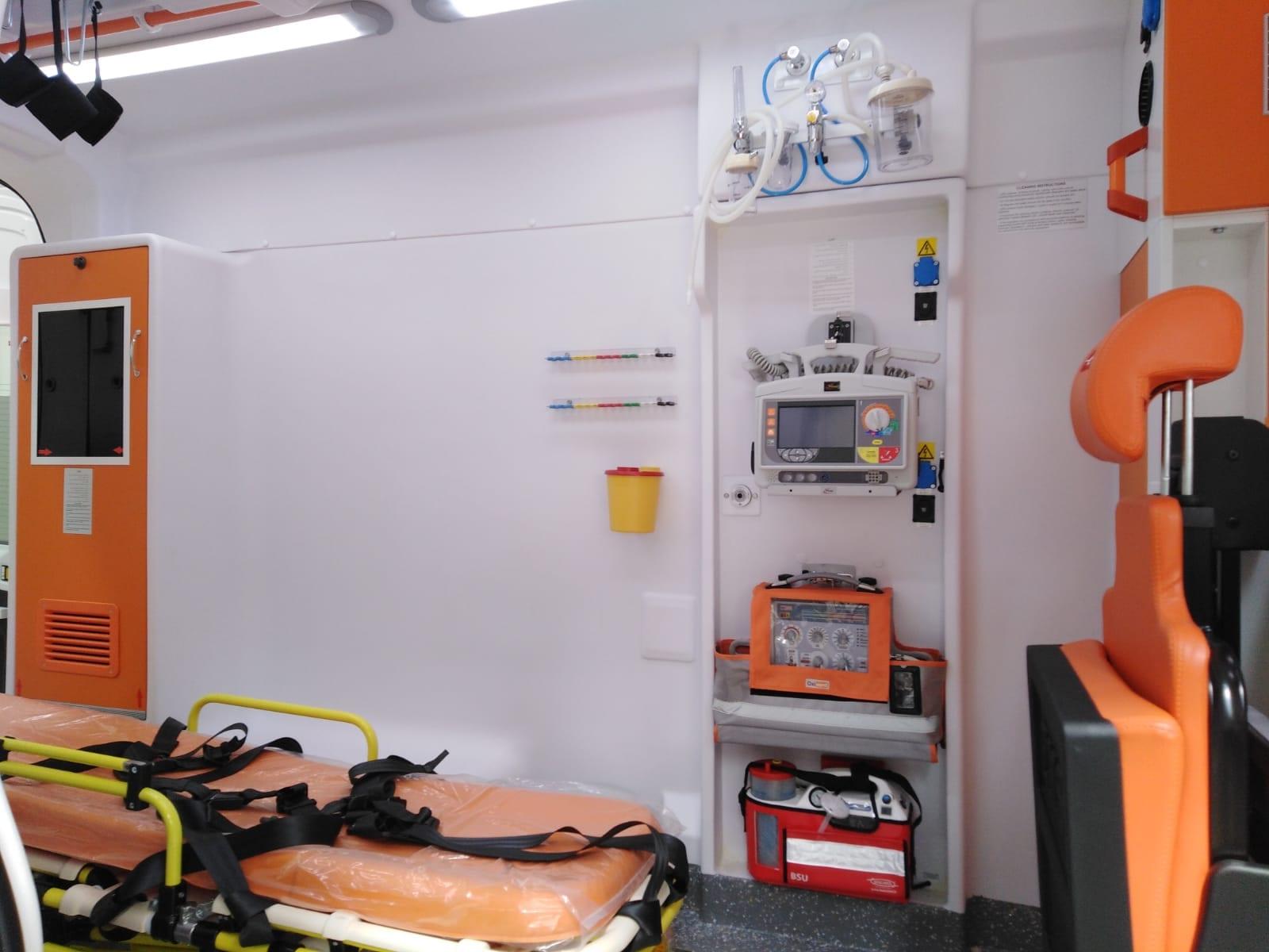 Mercedes ambulance 2019 Ready for shipment 3