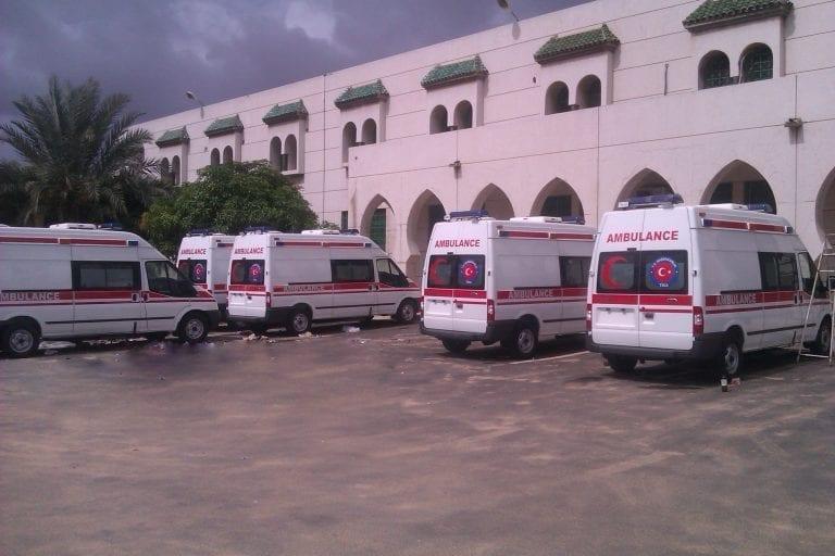 Humanitarian Aid Ambulance