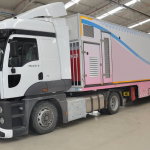 Mobile mammography vehicle