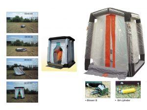 Tente d'isolement (en stock)