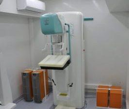 Veículo móvel de varredura de câncer para mamografia