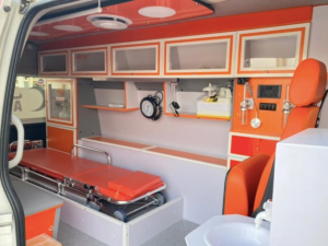 سيارة الإسعاف تويوتا هايس للطوارئ