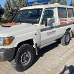 TOYOTA LAND CRUISER 4X4 EMERGENCY AID AMBULANCE 10